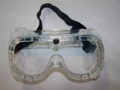 Lunette de protection avec sangle